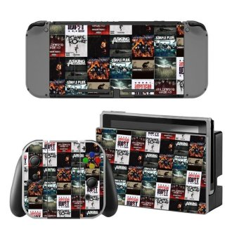 Decal Skin Sticker Dust Protector for Nintendo Switch Console ZY-Switch-0125 - intl
