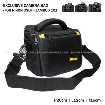 Camera Bag Zamrud 101 for Nikon DSLR, D7100, D7200, D3300, D5500, D5300, Etc