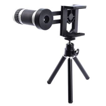 Mobile Phone Telescope 8x Zoom + Mini Tripod For Samsung S5