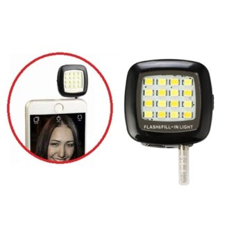 Lynx Smartphone Led Flash And Fill Light - Lampu Selfie Kamera Foto - Flash Selfie