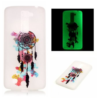 Harga Luminous Fluorescent Glow Soft TPU Phone Back Case Cover for LG K10 Colorful Dream
