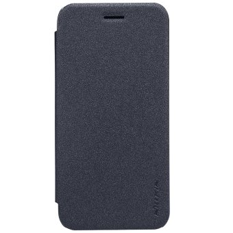 Nillkin Leather Case Sparkle Series Super Thin Flip Cover for ASUS Zenfone Go / ZB452KG (Dark Gray) - intl