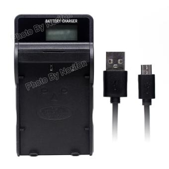 NP-120 LCD Ultra Slim USB Charger for Fujifilm FinePix 603 FinePix F10 FinePix F10 Zoom FinePix F11 FinePix F11 Zoom FinePix M603 FinePix M603 Zoom - intl