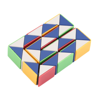 harga Allwin Snake Magic 3D Cube Game Puzzle Twist Toy Party Travel Family Child Gift Lazada.co.id