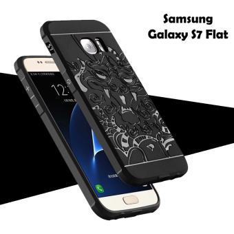 Harga Terbaru Dragon Cocose Case Samsung Galaxy S7 Flat Standart Motif Naga - Hitam