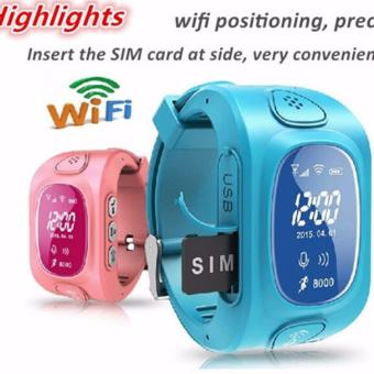 2Cool Children Smart Watch with Phone Call Anti Lose GPS Camera Kids Watch - intl