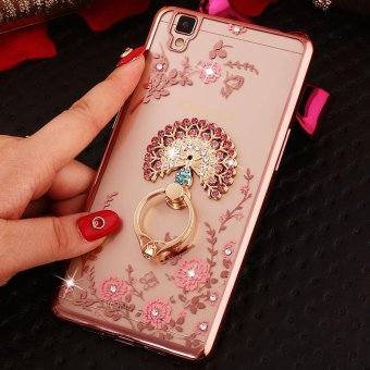... For OPPO R7S Soft Phonecase Fashion Phone Case Cover Casing With Ring Holder intl