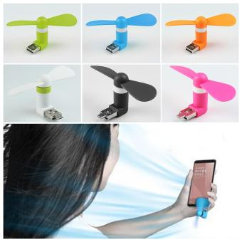 1Shop Mini Fan Dual Usb For Android & Iphone