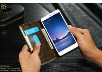 Xiaomi Redmi Note 3 / 3 Pro [Brown] Premium Wallet | Luxury Wallet | Casing Xiaomi Redmi Note 3 Pro | Premium Leather Wallet | Original Wallet | Import Casing Hp | Caseme Original | Uk Brand | Dompet Xiaomi | Flip Case Xiaomi Redmi Note 3 / 3 Pro