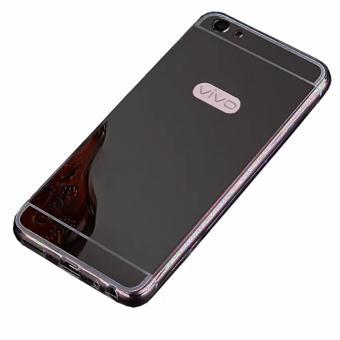 Harga Case Metal for Vivo V5 Y67 Aluminium Bumper With Mirror Backdoor Slide .