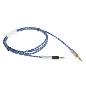ZY HiFi Cable Sennheiser HD598 HD595 HD518 HD558 6N OCC ZY-060 (Blue)