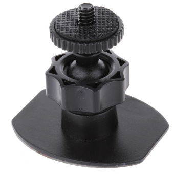 ZUNCLE Universal Motorcycle Bicycle 3M Holder Base for Automobile Data Recorder/GPS/DV (Black)