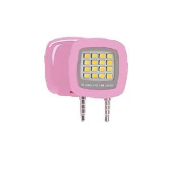 Flash Led Light For All Smartphone Lampu Selfie - Pink
