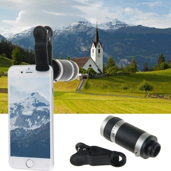 New 8x Zoom Clip Mobile Phone Telescope Phone Camera Telephoto Lens for Samsung Galaxy S6 S5 S4