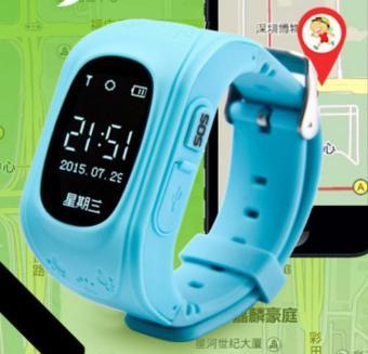 2Cool anak-anak pintar jaga GPS pelacak anti kehilangan posisi GPS anak SOS panggilan telepon smartwatch untuk iPhone Android - Internasional