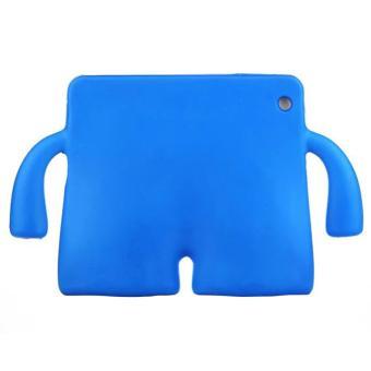 Portable Multi-functional Kids Thick Foam EVA Protective Cover Mini Anti-drop Flat Bracket for Samsung tab 3/4 7.0'(Blue) - intl