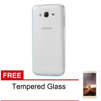 Casing Handphone Softcase Ultrathin Samsung Galaxy J5 2016 + Free Tempered Glass