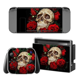 Newest Decal Skin Sticker Anti Dust PVC Protector For Nintendo Switch Console ZY-Switch-0194 - intl
