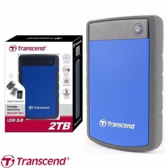 Jual Transcend StoreJet 2TB Portable USB 3.0 External Hardisk - Blue Harga Termurah Rp 1800000.00. Beli Sekarang dan Dapatkan Diskonnya.