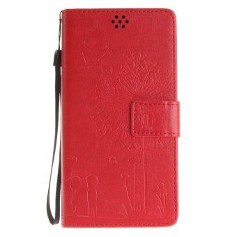 Lenovo K6 Note Little Bear Pattern Horizontal Flip Leather Case Source · Fashion Dandelion Protective Stand