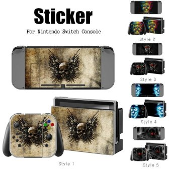 NEW Decal Skin Sticker Anti Dust PVC Protector For Nintendo Switch Console Game ZY-Switch-0179 - intl