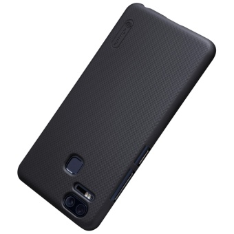 Nillkin Super Frosted Shield with Screen Protector Matte Ultra Thin PC Hard Back Case Cover for Asus Zenfone 3 Zoom ZE553KL (Black) - intl