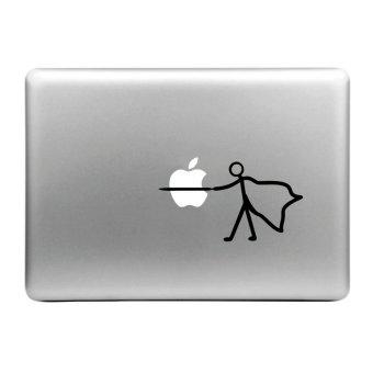 Jual Hat-Prince Stab the Apple Pattern Removable Decorative Skin Sticker for MacBook Air / Pro / Pro with Retina Display, Size: S Harga Termurah Rp 136000.00. Beli Sekarang dan Dapatkan Diskonnya.