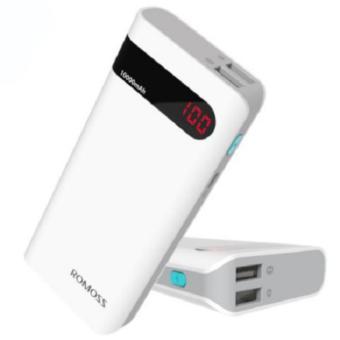 Jual Romoss Sense 4P Power Bank 10400mAh with LCD Display Harga Termurah Rp 145000.00. Beli Sekarang dan Dapatkan Diskonnya.