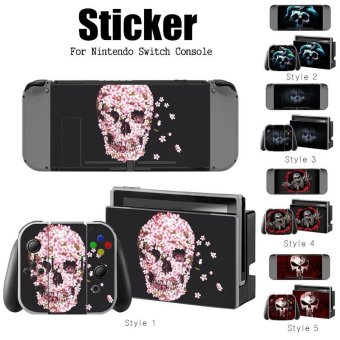 Decal Skin Sticker Dust Protector for Nintendo Switch Console ZY-Switch-0182 - intl