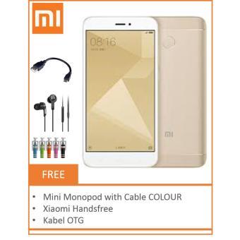 Jual Xiaomi Redmi 4X [4G LTE, 16GB+2GB] GOLD BLACK Harga Termurah Rp 1599000.00. Beli Sekarang dan Dapatkan Diskonnya.