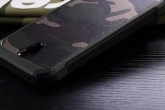 Case Xiaomi Redmi Note 2 Army Armor Hardcase Hard Soft No Ipaky Mirror