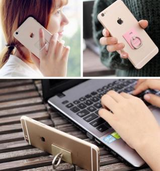 Phone Case for All mobiles Easy holder Smart Phone Watch Movies Can Be 360 Degree Rotation Iring Finger Holder for Smart Phone - intl