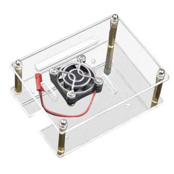 Jual Single layer Clear Acrylic Case Box Enclosure with Cooling Fan for Raspberry Pi 3 2 Model B+ - intl Harga Termurah Rp 133148.00. Beli Sekarang dan Dapatkan Diskonnya.