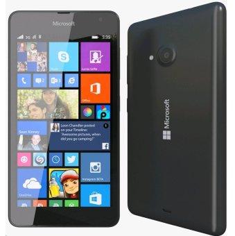 Microsoft Lumia 535 Dual SIM - 8GB - Hitam