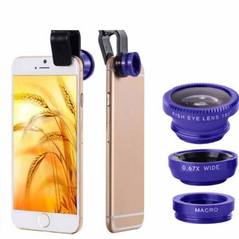 Galaxy X Fish Eye Clip Glass 3 In 1 For Vivo Y22 Hitam Daftar Source · Galaxy Source Harga YBC 3 in 1 Clip on Wide Angle Macro Fish Eye Lenses For
