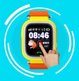 2Cool anak jam tangan ponsel pintar dengan layar sentuh WiFi posisi anti-kehilangan GPS pelacak anak SOS panggilan telepon smartwatch untuk iPhone Android - Internasional