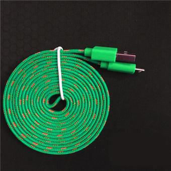 Mr82 Kabel Data Charger Tali Sepatu Micro Usb 3m Biru Daftar Source · Harga GShop Kabel