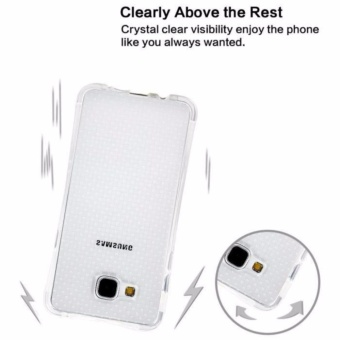 Zenblade Anti Shock Anti Crack Softcase Casing for Samsung Galaxy Grand Prime G530 + Free Tempered Glass