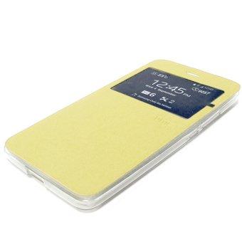 Ume Flip Cover untuk ASUS Zenfone 2 ZE551ML - Emas