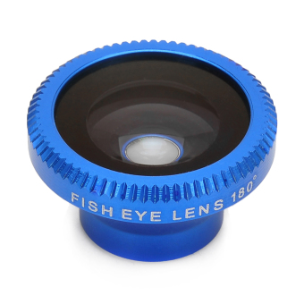 ZUNCLE Universal 180 Degree Fisheye Lens for Digital Cameras and Cell Phones(Blue)