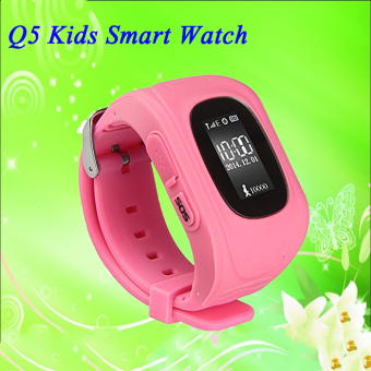 2Cool 2016 Kids GPS Watch with Call Function SOS Positioning Care Kids Safe Gift Pink