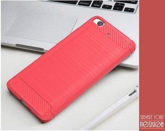 NOZIROH Xiaomi Mi5s Soft Silicon Cover Mi 5s Shockproof Ant Slip Elegant Phone Case Sharp Red