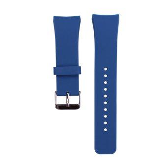 Harga Terbaru Silikon untuk perhiasan Band Samsung Galaxy Gear S2 SM -R720(Biru)