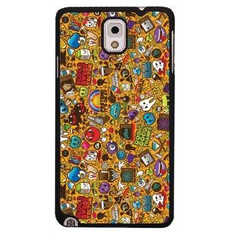 Funny Cartoon Fruits Pattern Samsung Galaxy Note 3 Case For Samsung Galaxy Note 3 (Black)