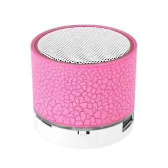 Mini Speaker Portable Bluetooth Wireless with Super Bass Stereo Source LED Luminous Music .