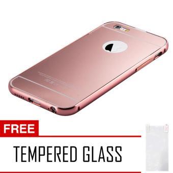 Calandiva Mirror Backcase Metal Bumper For Xiaomi Mi4s Gold Gratis Source · Case Metal Aluminium Bumper