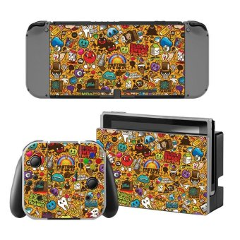 Decal Skin Sticker Dust Protector for Nintendo Switch Console ZY-Switch-0124 - intl
