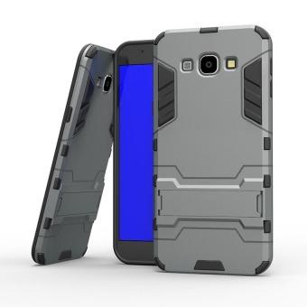 Lihat Harga Case Samsung Galaxy J7 Kick Stand Series - Abu-abu di Toko Online - Cari yang Termurah! - Medan Harga