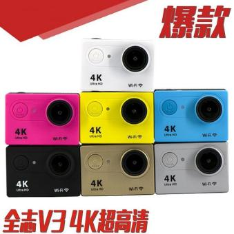 4K Sport DV Action Camera for Scuba Diving 30M WaterProof Action Camera WiFi Small Size Best Sport Camera for Traveling - intl