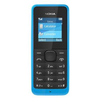 Harga Nokia Asha 105 – 8 MB – Cyan Murah